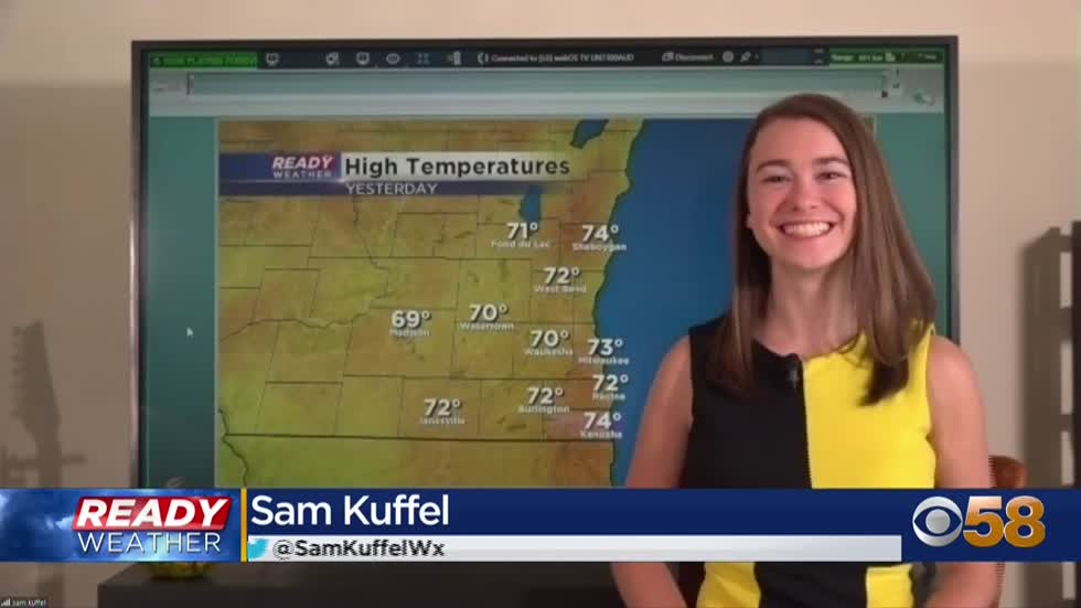 Stretch of 70s continue into the weekend