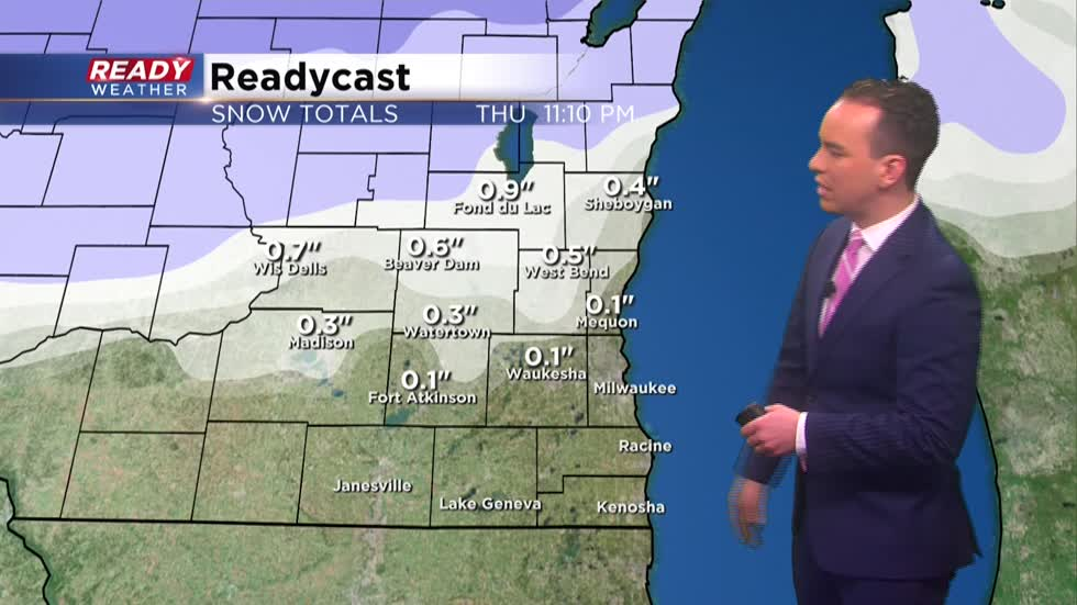 Another nuisance snow arrives Thursday