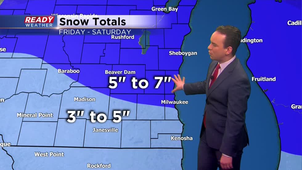 Next snow storm arrives Friday evening
