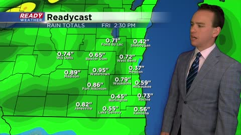 Scattered storms could be strong to severe Thursday