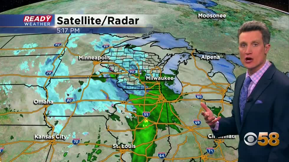 Flurries and drizzle continue
