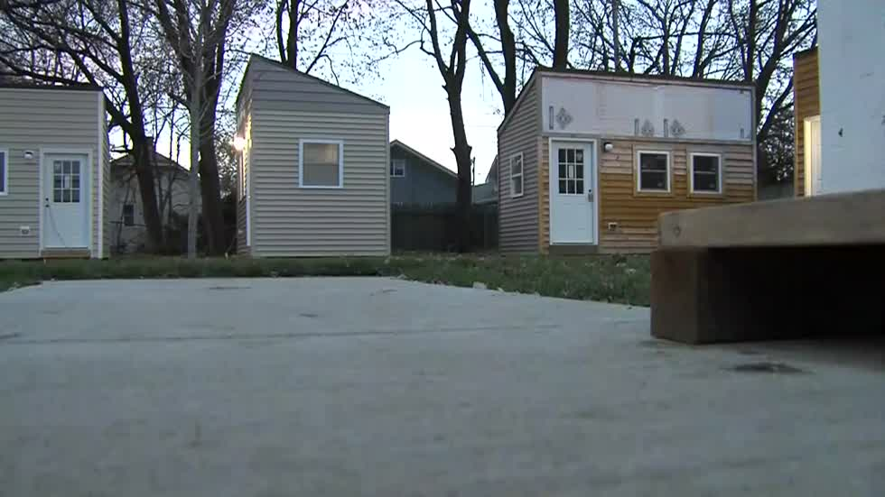 First veterans move into tiny home village in Racine