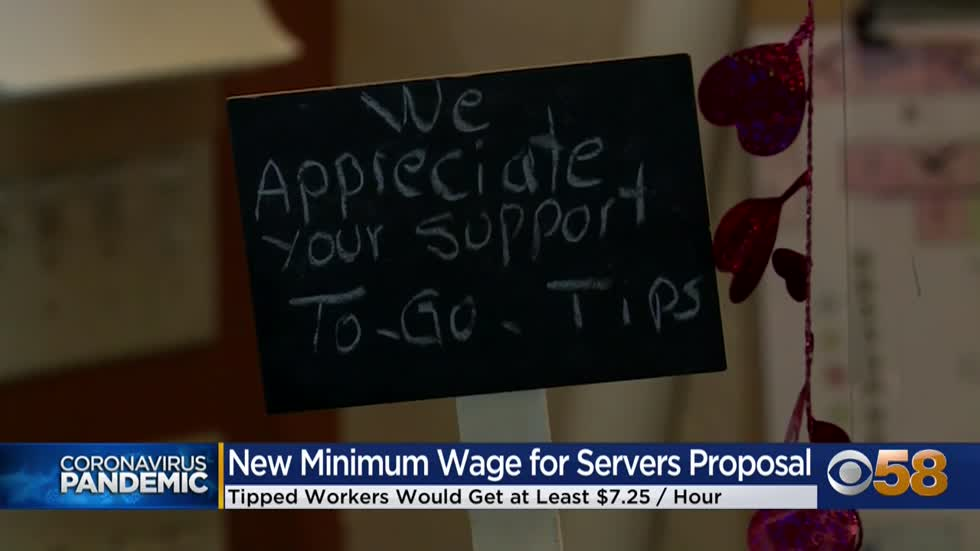 Democrats seek to repeal tipped minimum wage for restaurant workers