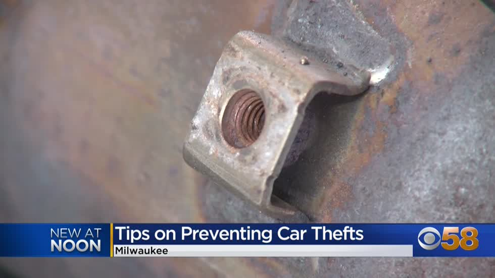 Car part thefts on the rise in Milwaukee; catalytic converters a hot item