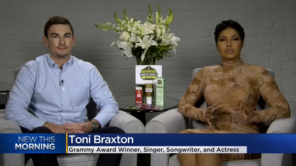 Singer Toni Braxton talks about impact CBD has had on her life