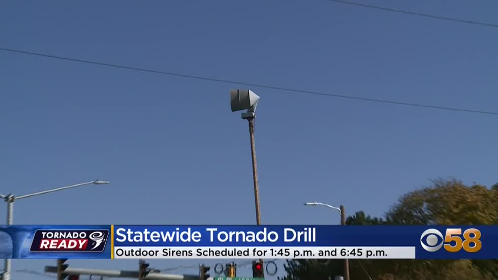'Go over your plan': Tornado drills to be held Thursday for...