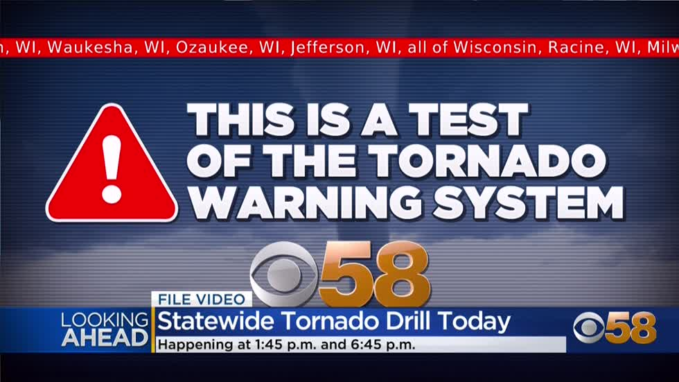 Tornado drill held Thursday for Severe Weather Awareness Week