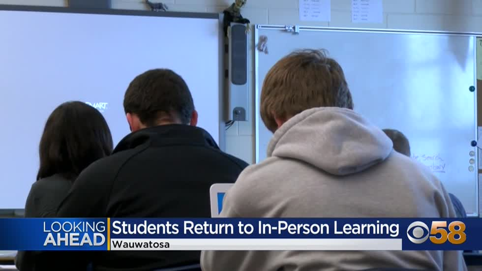 Wauwatosa middle and high school students to begin in-person...