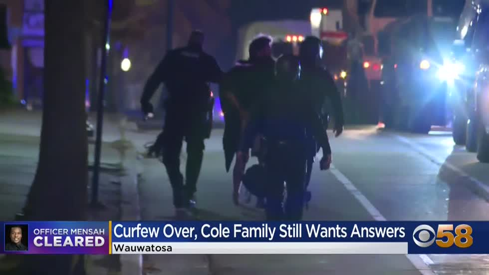 Wauwatosa leaders talk future after nights of protests, Cole family lawyer responds