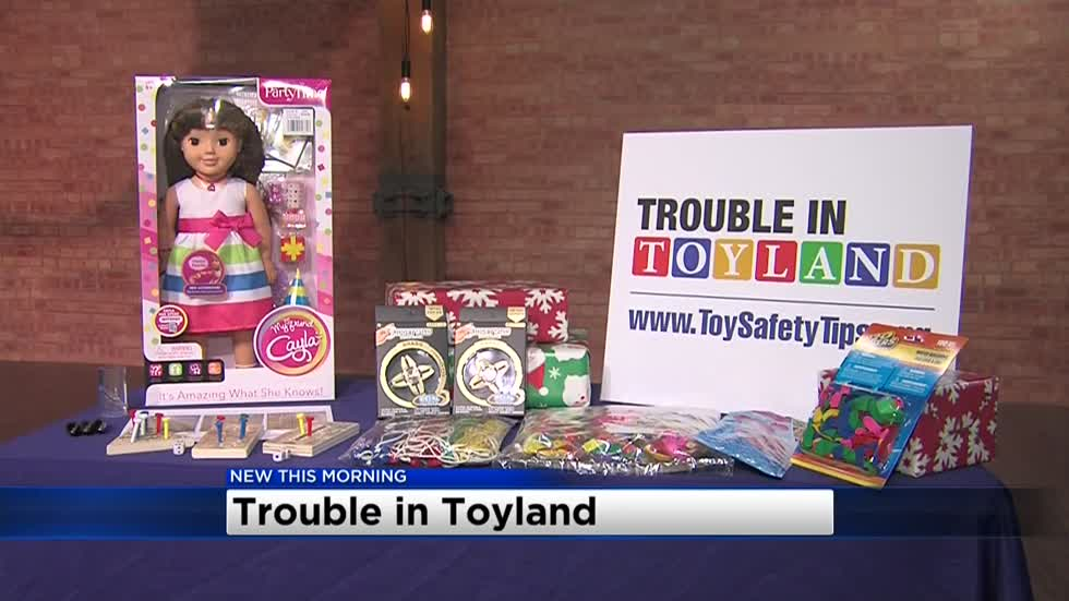 Trouble in Toyland: List highlights most dangerous toys for kids in 2017