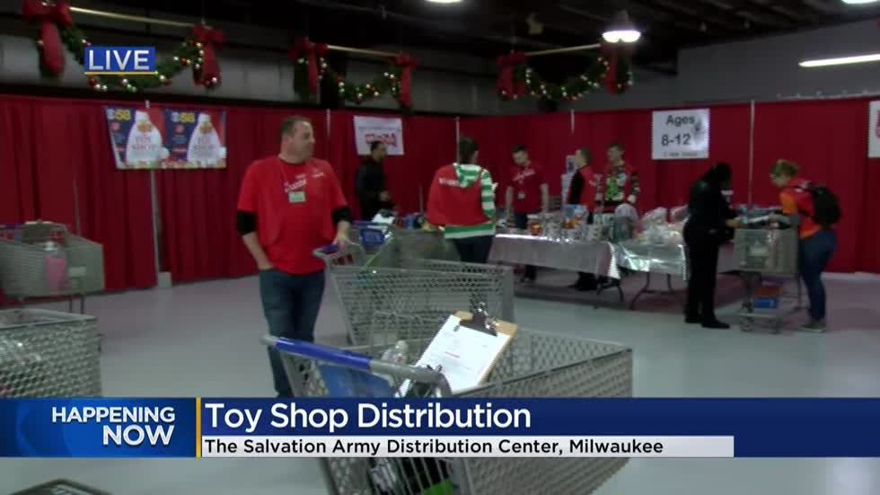 The Salvation Army, Steinhafels, CBS 58 and you make Christmas memories for thousands