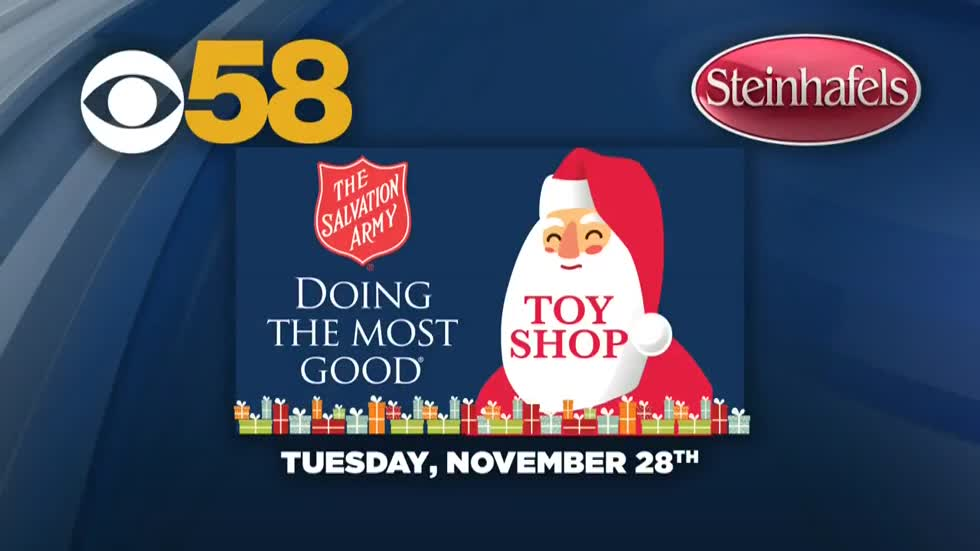The Salvation Army's Toy Shop lets you give a gift for kids in need