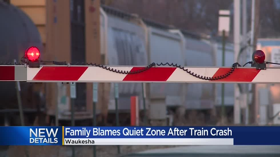 Family blames quiet zone for son's death at railroad crossing
