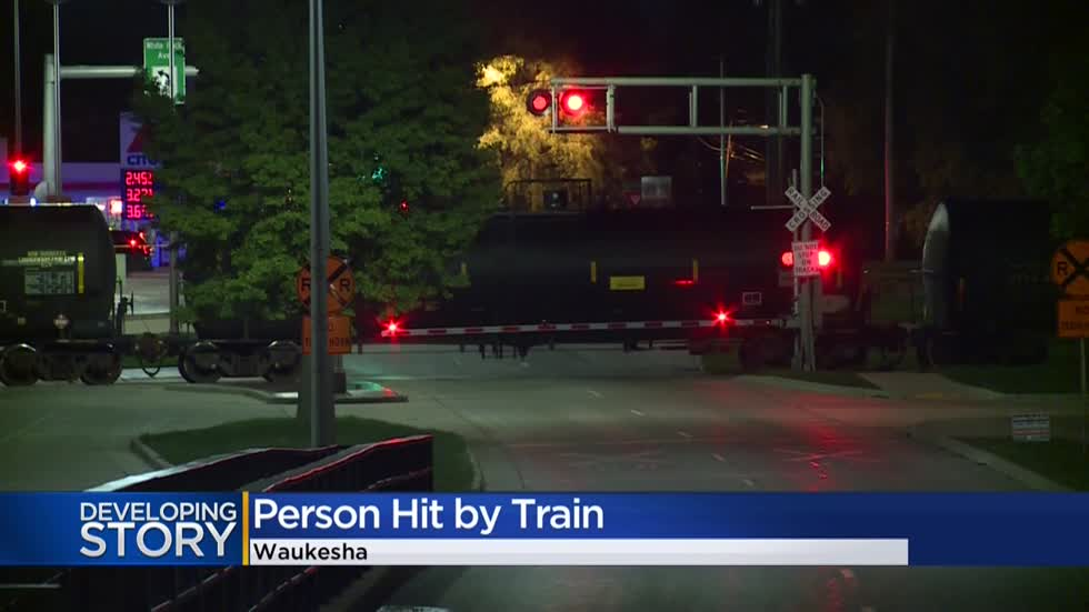 Woman fatally struck by train in Waukesha not considered suspicious