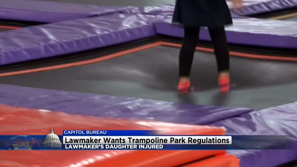 Wisconsin State Senator pushing for trampoline park regulations
