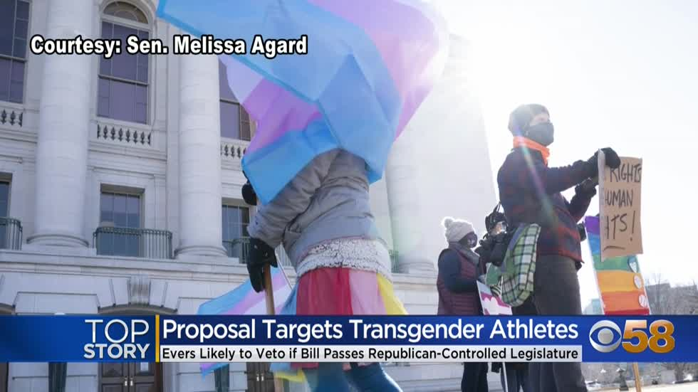 Proposal to ban transgender athletes from female sports met with...
