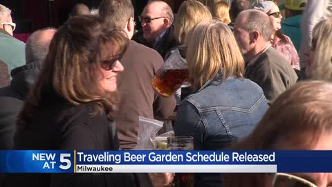 Milwaukee County 2020 Traveling Beer Garden postponed over pandemic; first leg of tour canceled 🍻
