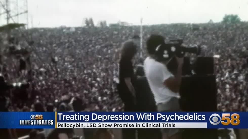 CBS 58 Investigates: Psychedelic drugs and depression