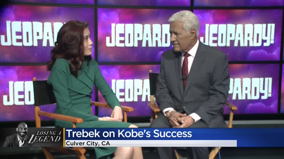 'Jeopardy!' host Alex Trebek reacts to death of Kobe Bryant in CBS 58 exclusive interview