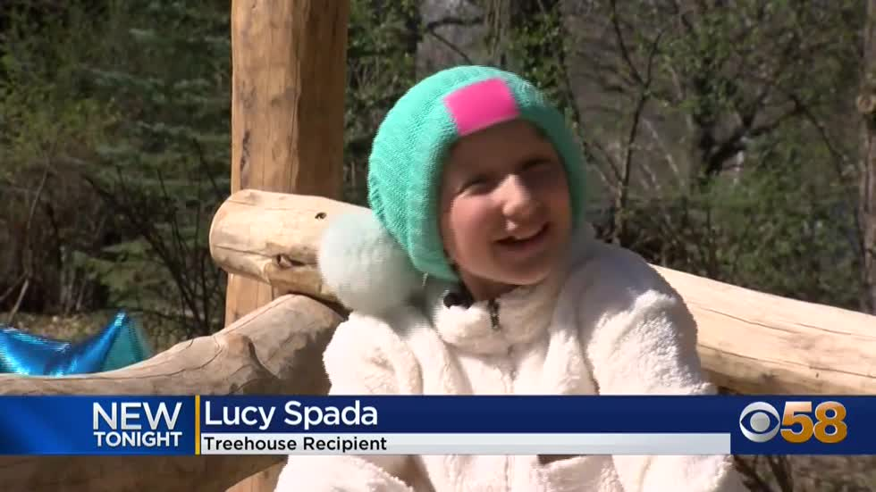 A new 'awesome' playhouse for 10-year-old Lucy, a Brookfield...