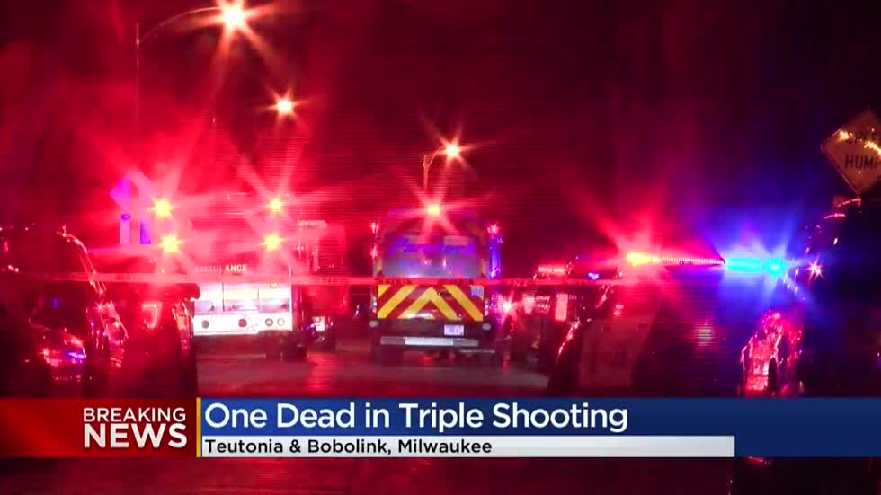 Man dead, 2 hurt in triple shooting near 28th and Bobolink in Milwaukee