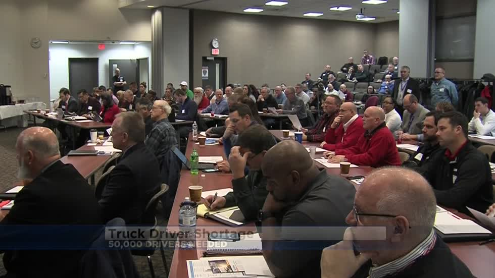 Area educators meet to discuss truck driver shortage, impact on economy