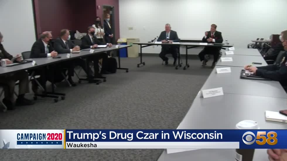 Pres. Trump's 'drug czar' visits Waukesha with plan to...