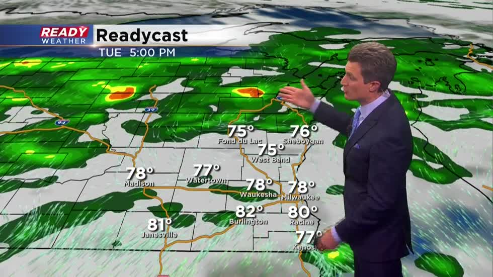 Wednesday Morning Update: Flash flood warnings have expired, steady rain still falling