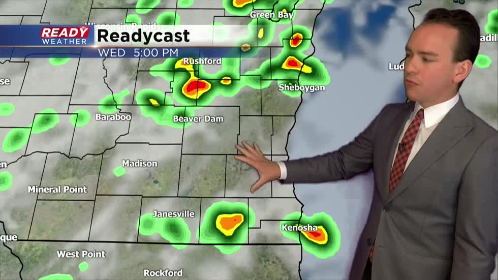 Storm chances return Tuesday evening