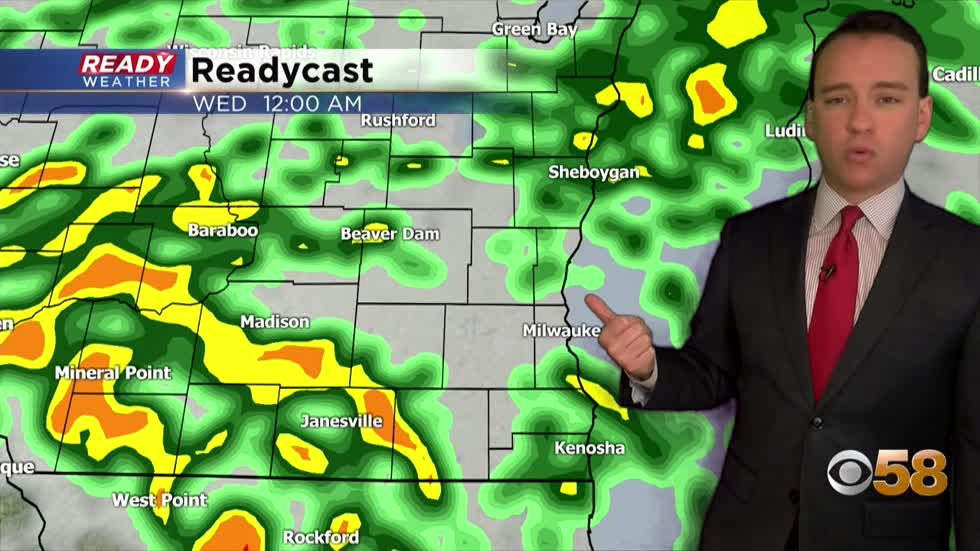 Soggy few days with rain chances and isolated storms