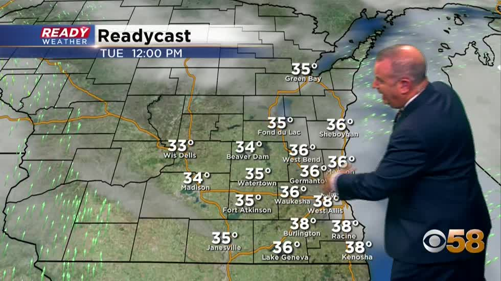 From winter's warmth to a frigid forecast for Santa