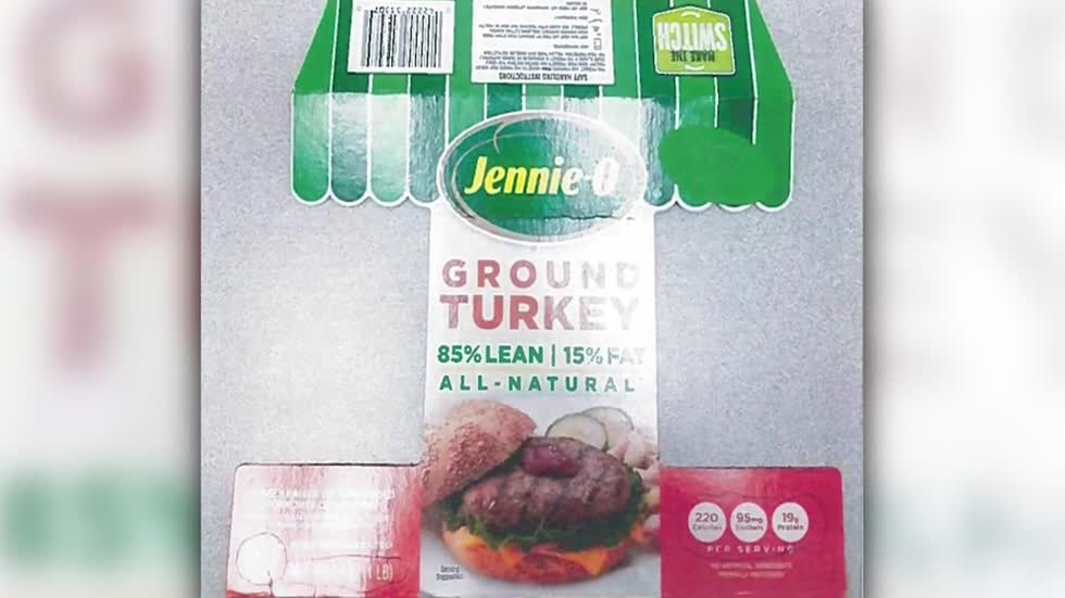 Jennie-O recalling ground turkey in salmonella outbreak