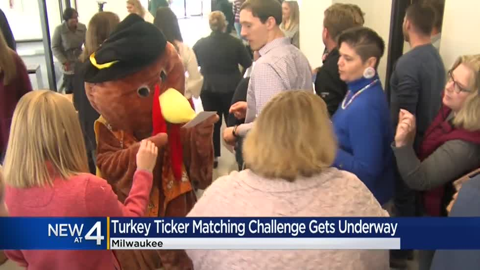 Hunger Task Force 'Turkey Ticker Challenge' kicks off