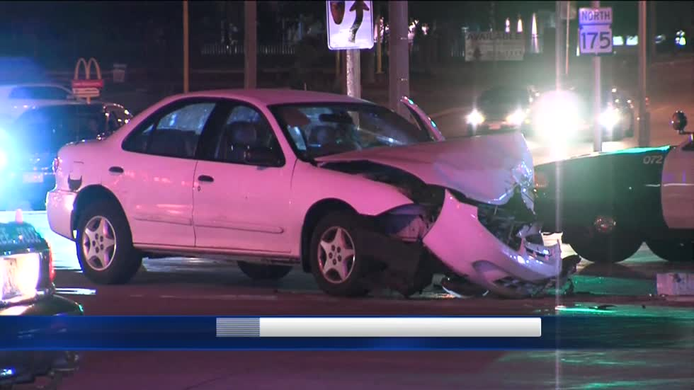 Two teens injured in high speed crash on Milwaukee's north side