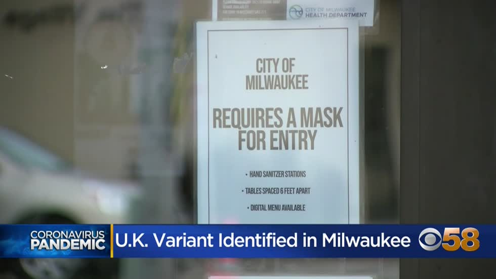 Highly contagious UK COVID-19 variant detected in Milwaukee
