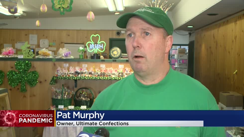 Wauwatosa's Ultimate Confections donates unsold Easter basket candy to first responders