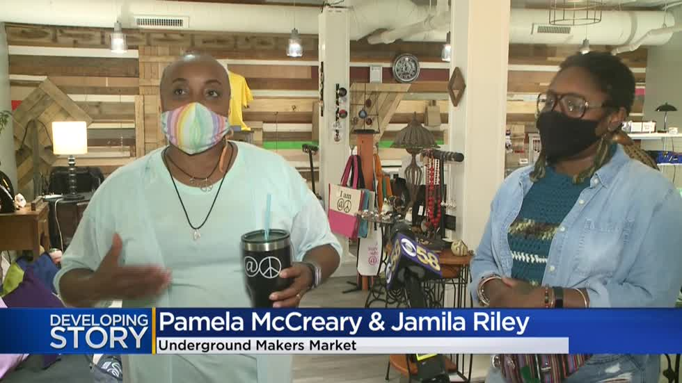 Underground Makers Market opens at Sherman Phoenix