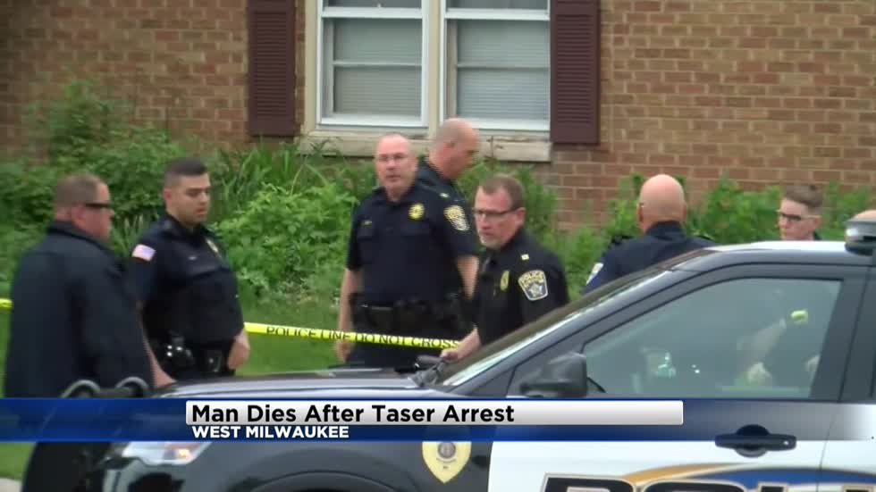 Man dies after being tasered by police in West Milwaukee
