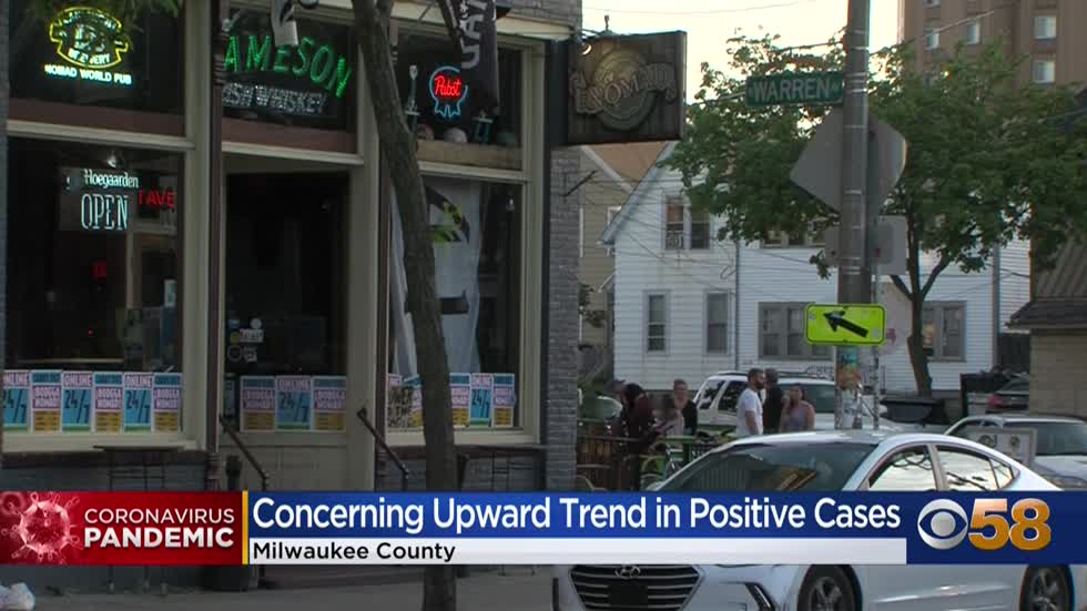 Milwaukee reviewing current COVID safety plan; could move backwards