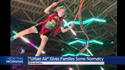 "Waukesha's newly-opened ""Urban Air"" helps keep kids hanging from the rafters safely during this pandemic"