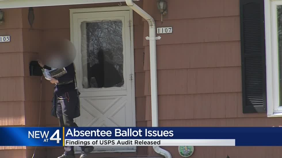 CBS 58 Investigates: USPS audit blames mail carrier and label problems for spring election mail problems