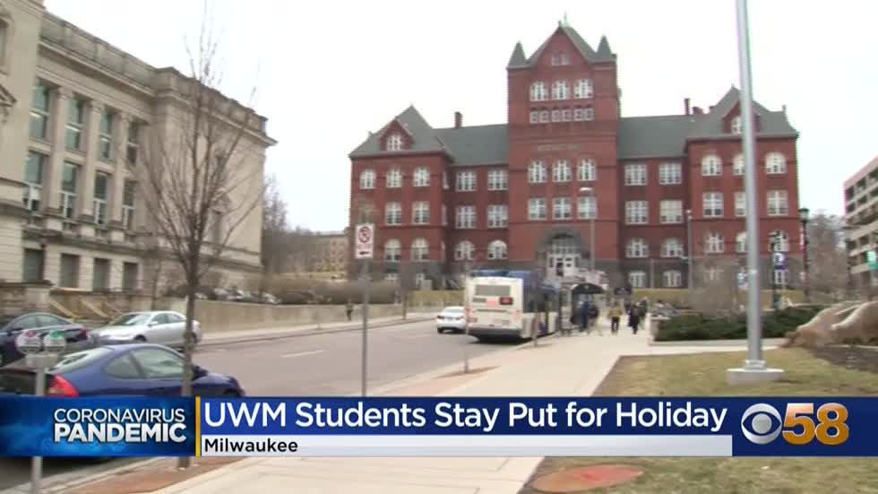 UW students leave for Thanksgiving, some indefinitely because...