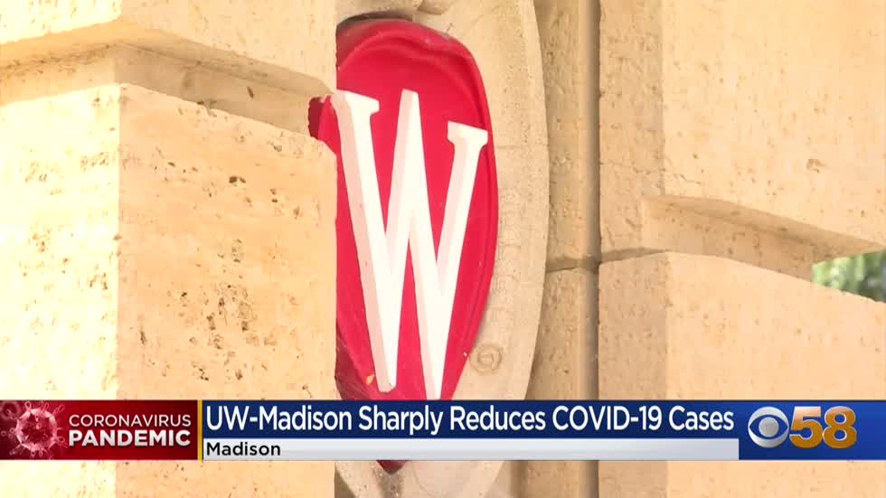 UW System: Efforts to reduce COVID-19 cases on campus are working
