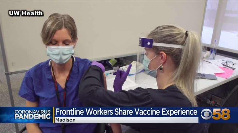 'Light at the end of this long and dark tunnel': Health care workers, leaders reflect on arrival of COVID-19 vaccines in Wisconsin