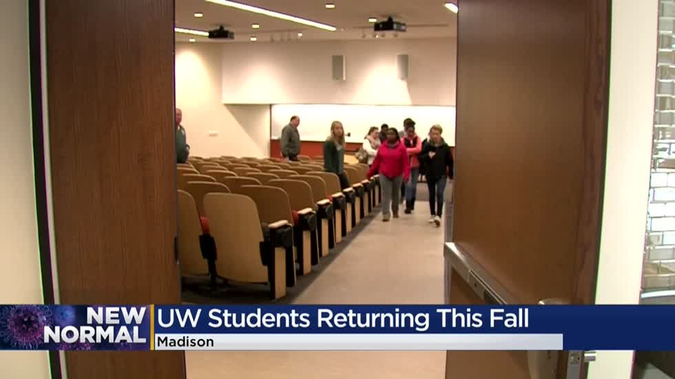 Students to return to UW System campuses but with pandemic precautions