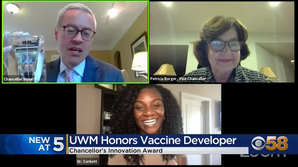 UWM presents Chancellor's Innovation Award to doctor who helped...