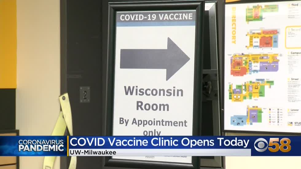 UW-Milwaukee launches community COVID-19 vaccine clinic
