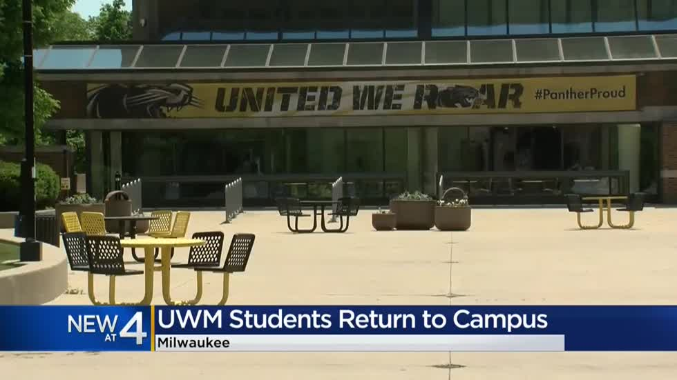 UWM students return to campus amid pandemic