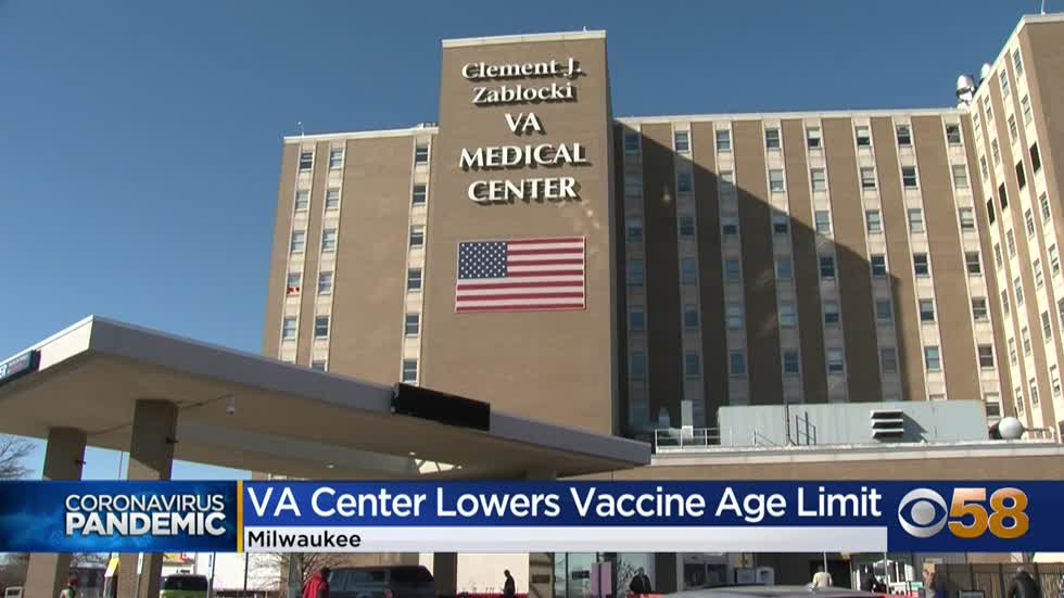 Milwaukee VA opens vaccinations to enrolled veterans 60 and older