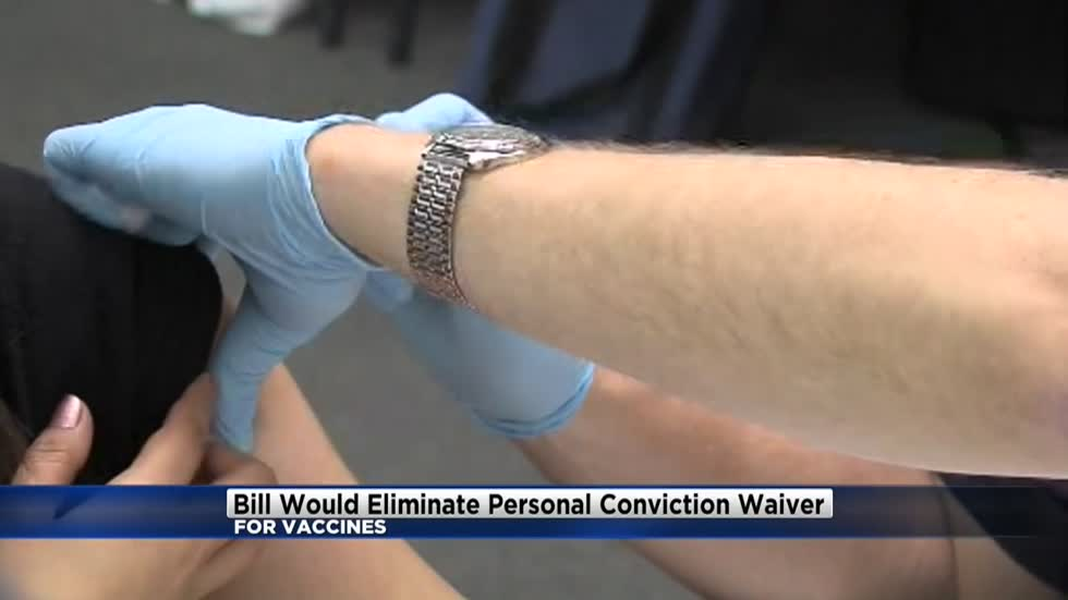 Bill would eliminate Wisconsin's personal conviction waiver for vaccines